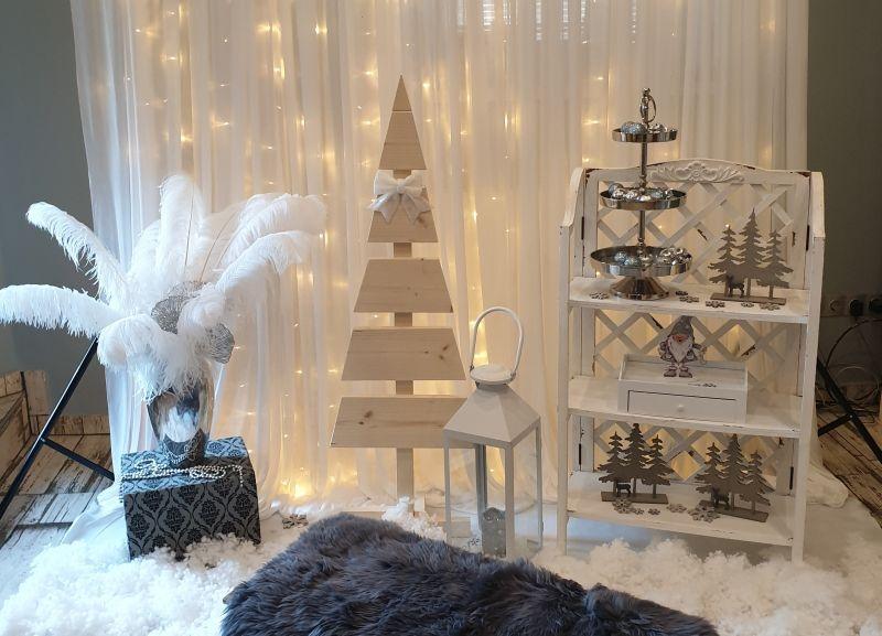 Karácsonyi fotósarok - ezüst