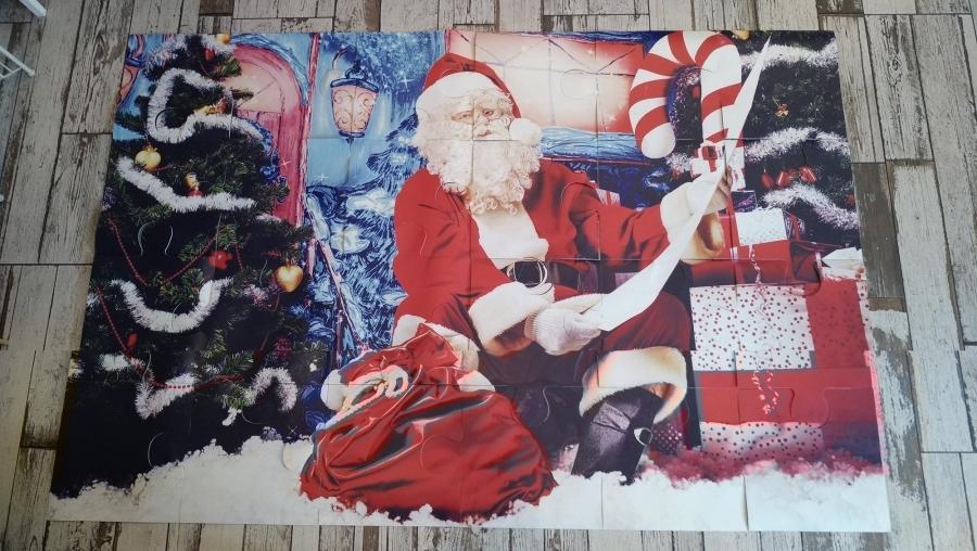 Karácsonyi óriás puzzle 1