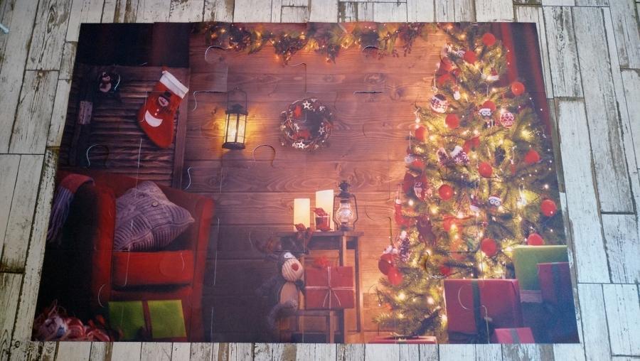 Karácsonyi óriás puzzle 2